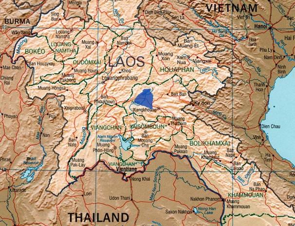 Plaine des Jarres, Phonsavan - Laos Plaino10