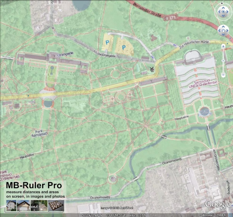 OpenStreetMap et Google Earth Sansso10