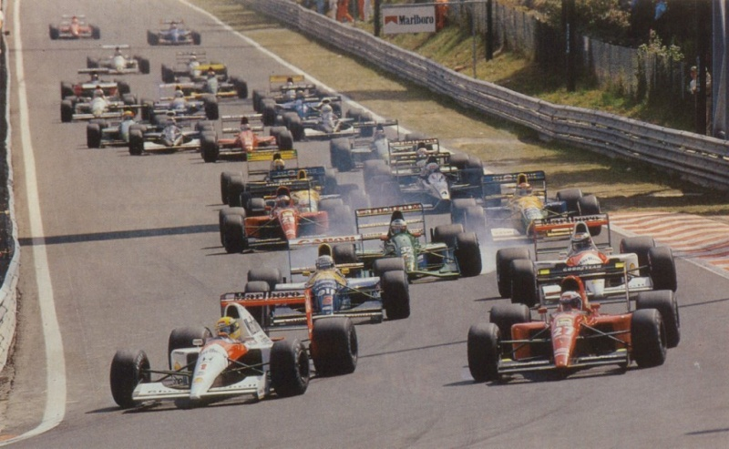 F1 1991 - Belgian GP [August 19th] Spa19910