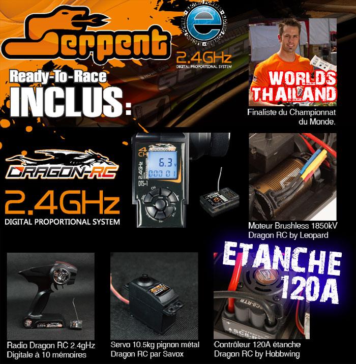 Les buggy 1/8 electrique Ser60011