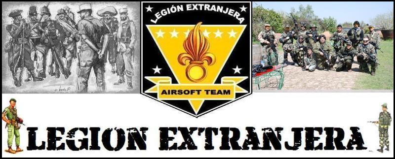 Legión Extranjera Airsoft Team