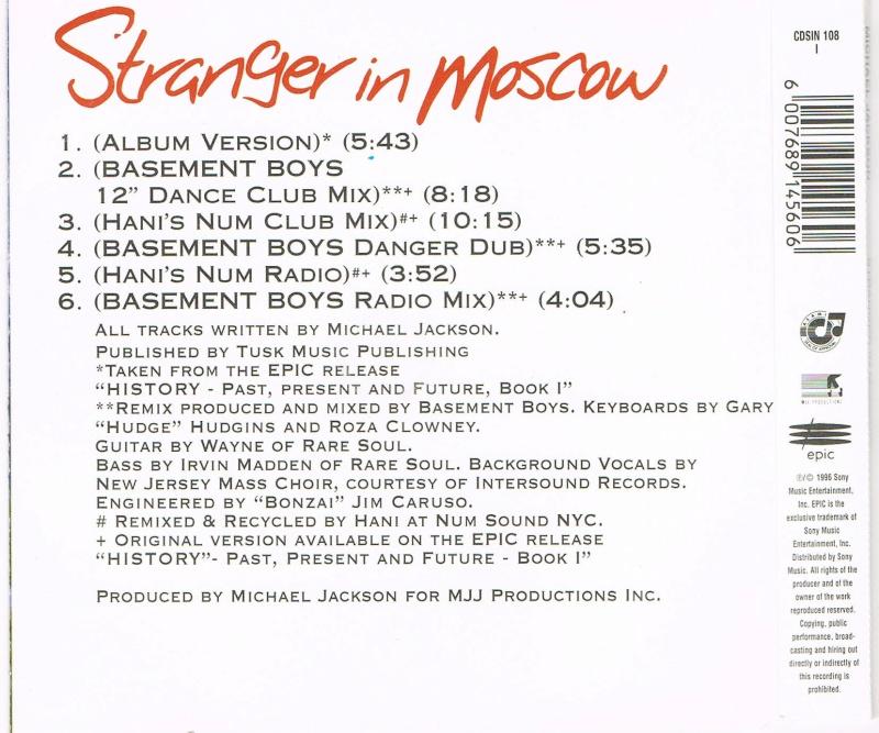 Double Set Stranger In Moscow RSA Simrsa11