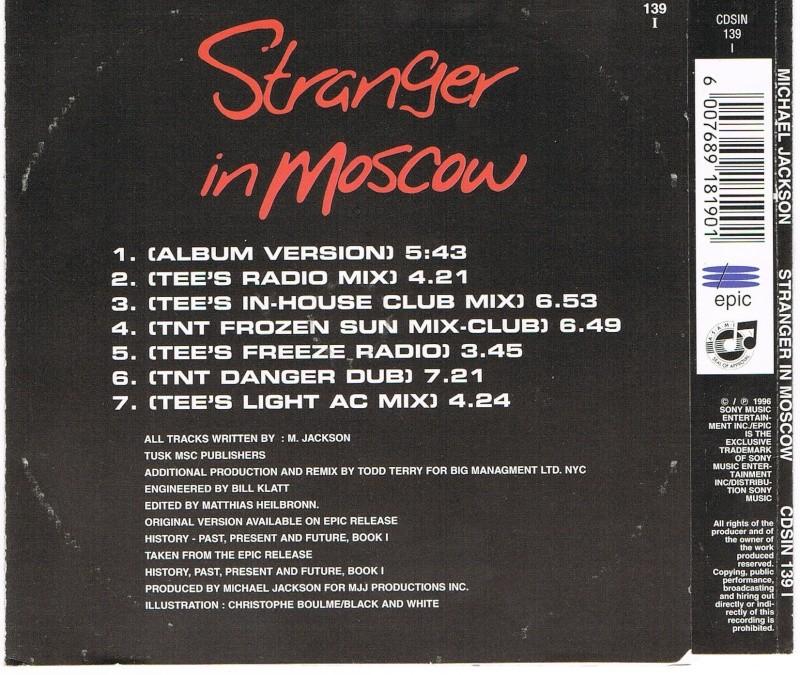 Double Set Stranger In Moscow RSA Simrsa15