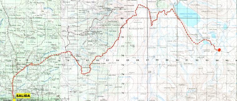 Derrotero de Valverde. Mapa10