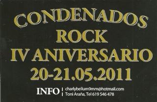IV Aniversario, Condenados a Rodar !!  Conden10