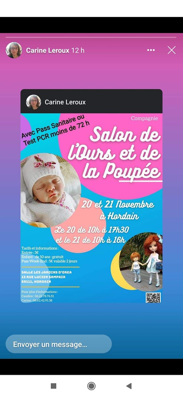 Salon de l'ours et de la poupée, 20 et 21 novembre 2021. 24399810