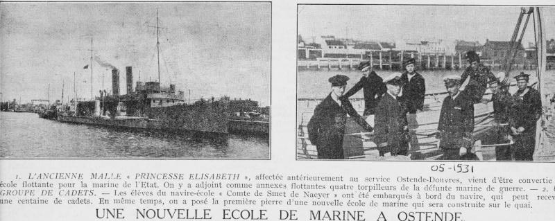 Ostende 1931 - Ecole de Marine Ostend10