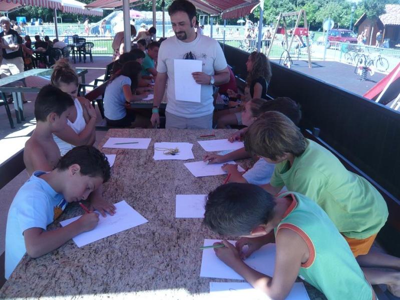 FOTOS - Talleres PokerFace en el Camping de Iratxe P1060311
