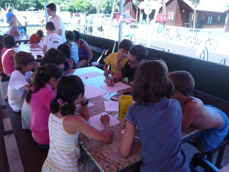 FOTOS - Talleres PokerFace en el Camping de Iratxe P1060313
