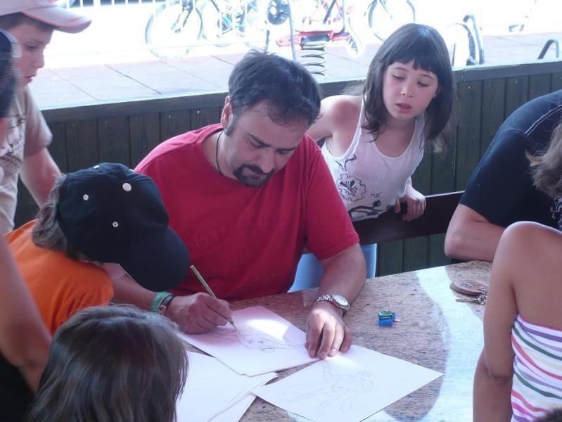 FOTOS - Talleres PokerFace en el Camping de Iratxe P1060317