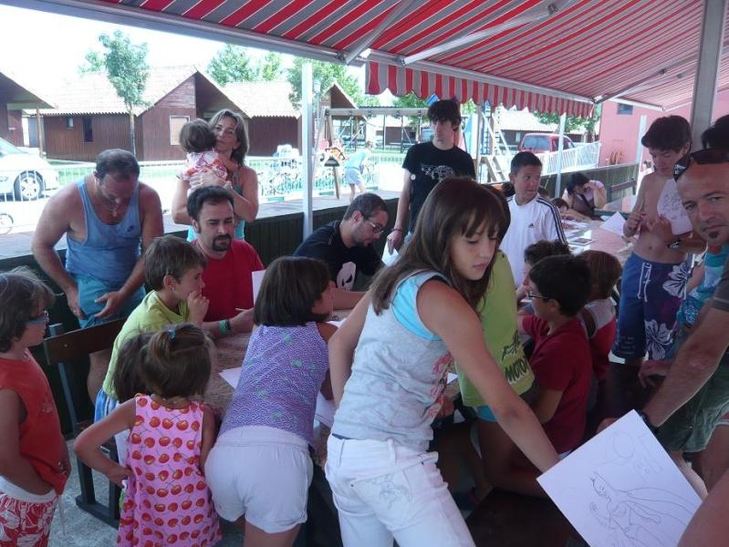 FOTOS - Talleres PokerFace en el Camping de Iratxe P1060322