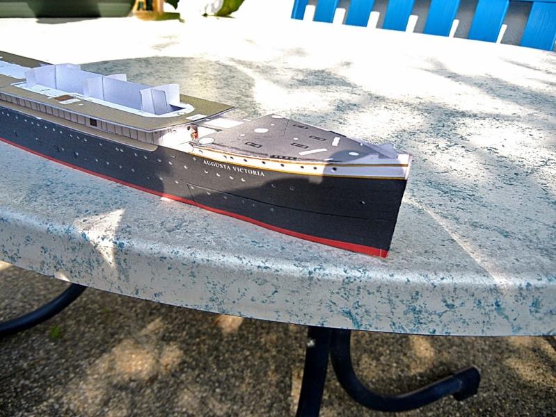 Schnelldampfer Augusta Victoria 1:250 HMV-Verlag - Seite 2 August74