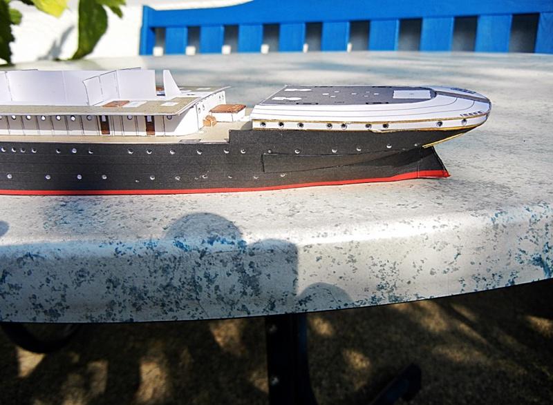 Schnelldampfer Augusta Victoria 1:250 HMV-Verlag - Seite 2 August75
