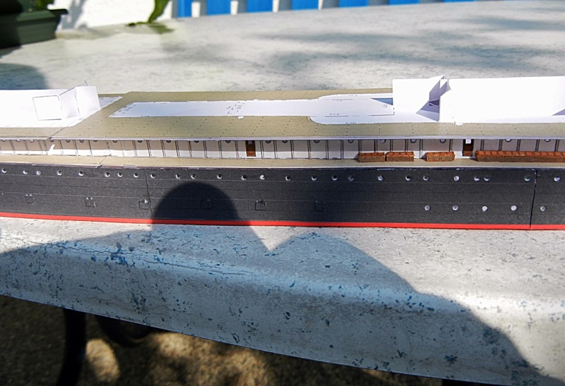 Schnelldampfer Augusta Victoria 1:250 HMV-Verlag - Seite 2 August76