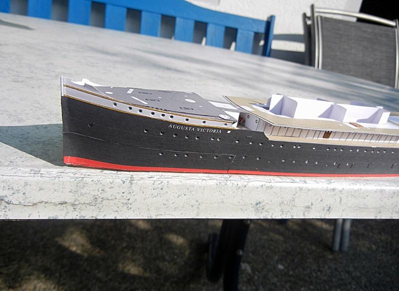 Schnelldampfer Augusta Victoria 1:250 HMV-Verlag - Seite 2 August77