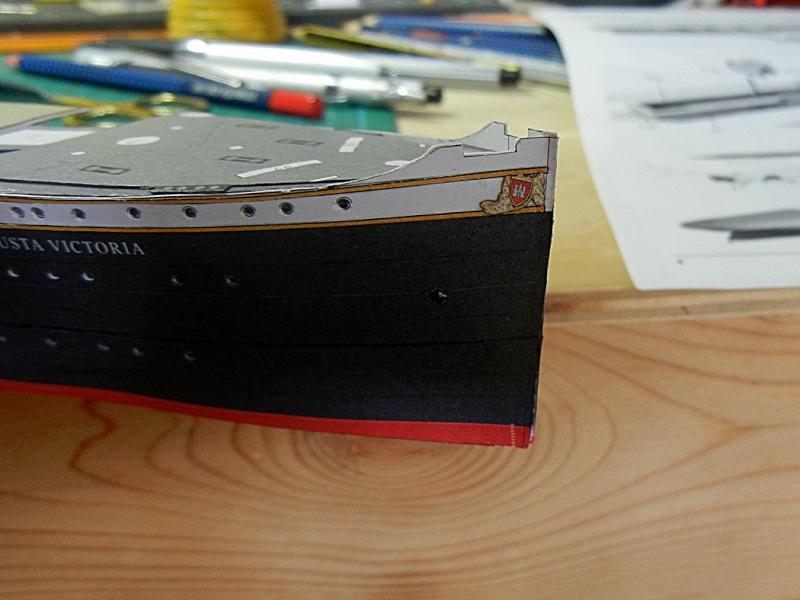 Schnelldampfer Augusta Victoria 1:250 HMV-Verlag - Seite 2 August81