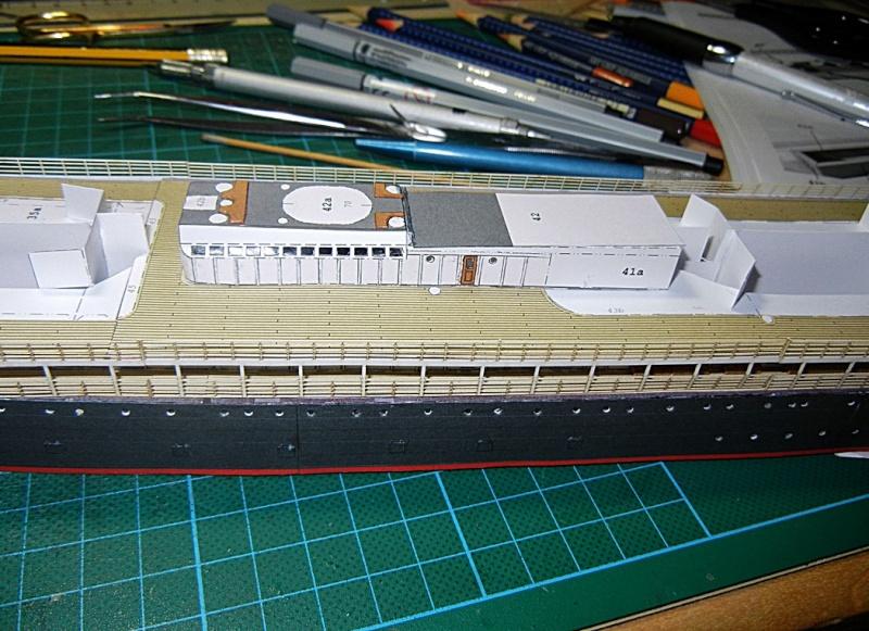 Schnelldampfer Augusta Victoria 1:250 HMV-Verlag - Seite 2 August88