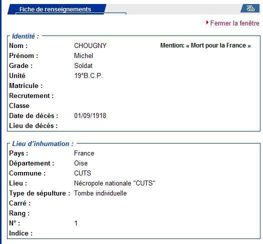 Recherche sépulture Chougny Michel Chougn11