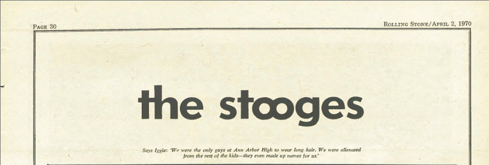Rolling Stone No.55 1970 Stooges Article Pop1_b11