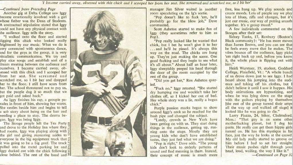 Rolling Stone No.55 1970 Stooges Article Pop5_b10