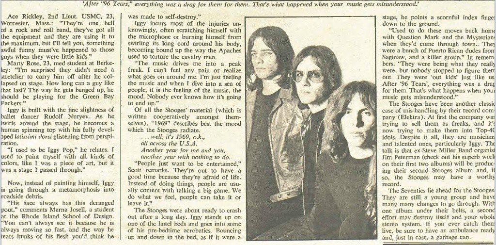 Rolling Stone No.55 1970 Stooges Article Pop8_b10