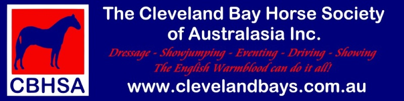 Cleveland Bay Horse Society of Australasia Banner10
