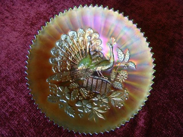 American Carnival glass 00612