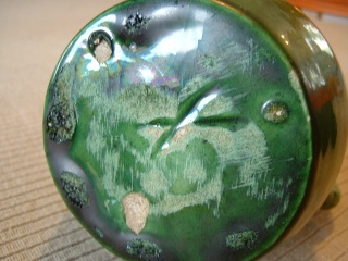 Green glazed pots - Belgium Art Pottery (not Farnham) - Page 2 00816