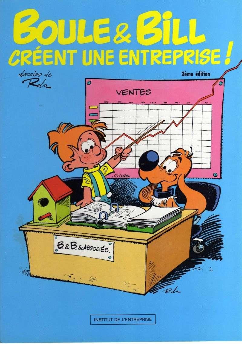 """livret """"Boule et Bill créent une entreprise"""" (CH) Img00310"""