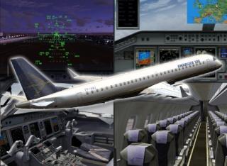 E-Jets V2 Embraer 175/195 lançado Ejetsv10