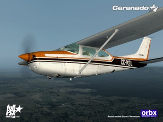 Carenado lançou Cessna 182 Skylane RG II para FSX Fsxrg510