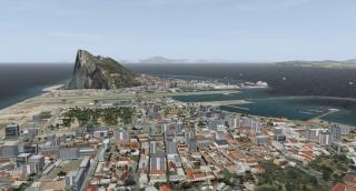 Aerosoft - Gibraltar X lançado Lxgb0410