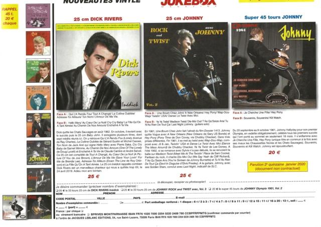 prochaines sorties chez J.B.M Johnny13