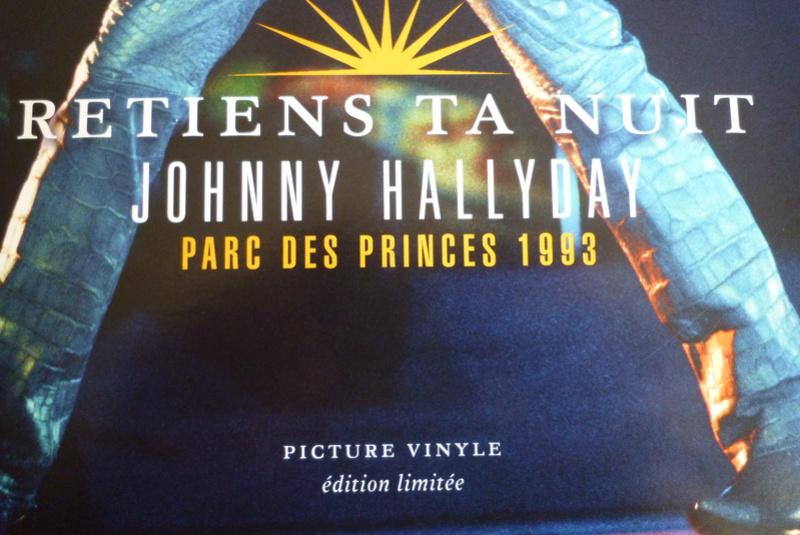 """PICTURE VINYLE """"retiens ta nuit"""" édité par mercury P1590812"""