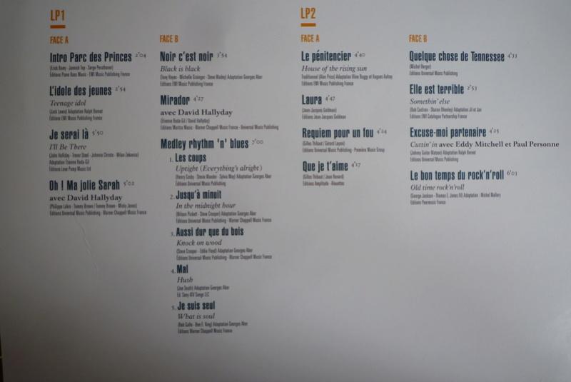 """double 33 tours """"Parc des princes 1993"""" édité par mercury P1590818"""