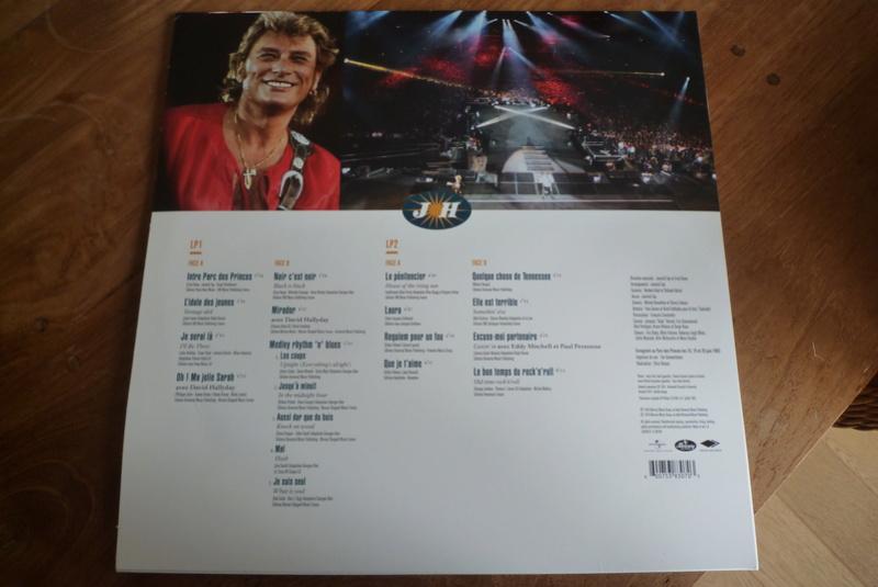 """double 33 tours """"Parc des princes 1993"""" édité par mercury P1590819"""