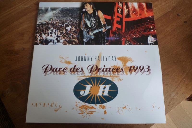 """double 33 tours """"Parc des princes 1993"""" édité par mercury P1590820"""