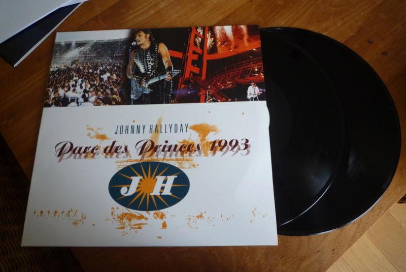 """double 33 tours """"Parc des princes 1993"""" édité par mercury P1590822"""