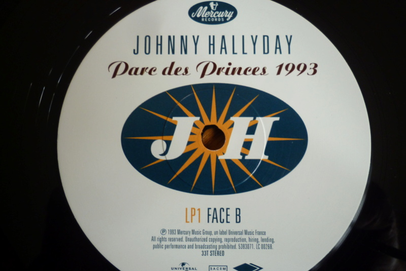 """double 33 tours """"Parc des princes 1993"""" édité par mercury P1590824"""