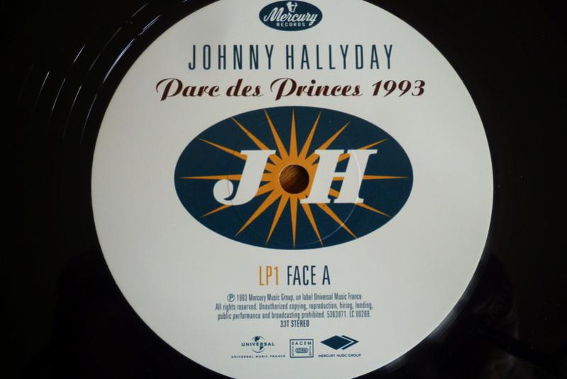 """double 33 tours """"Parc des princes 1993"""" édité par mercury P1590825"""