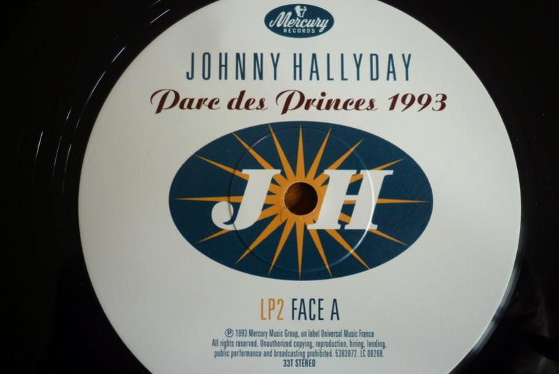 """double 33 tours """"Parc des princes 1993"""" édité par mercury P1590826"""