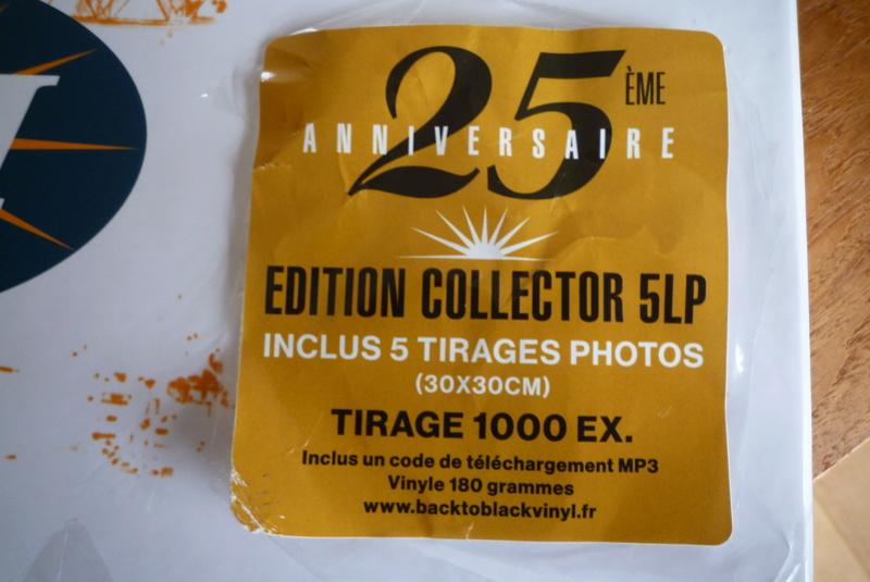 """Edition collector 5 LP """"parc des Princes 1993"""" édité par mercury P1590829"""