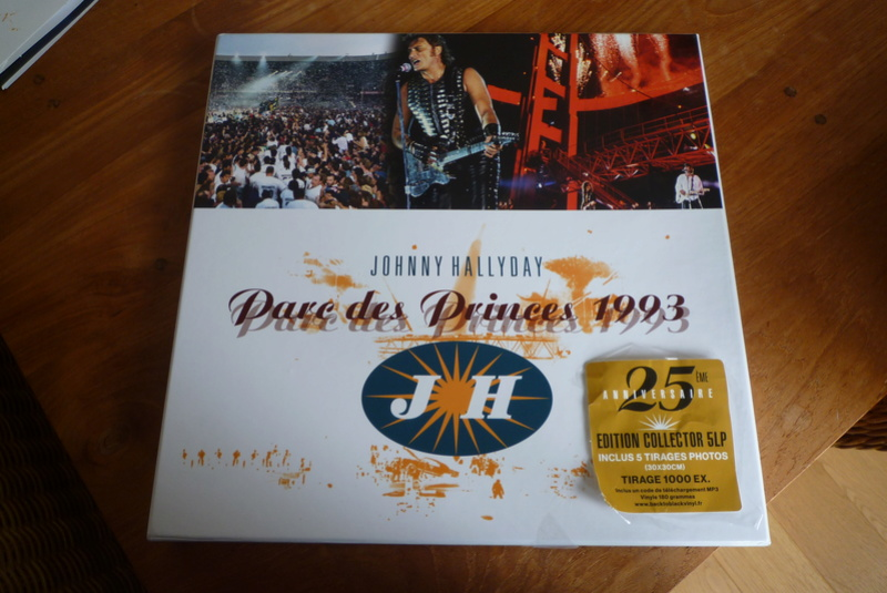 """Edition collector 5 LP """"parc des Princes 1993"""" édité par mercury P1590831"""