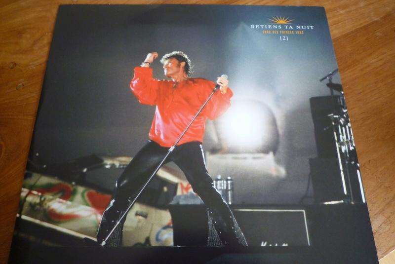"""Edition collector 5 LP """"parc des Princes 1993"""" édité par mercury P1590847"""