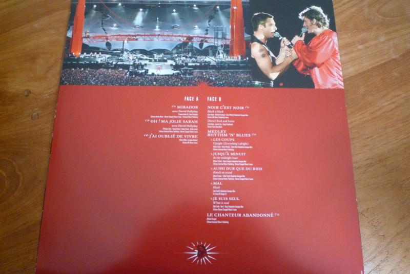 """Edition collector 5 LP """"parc des Princes 1993"""" édité par mercury P1590848"""