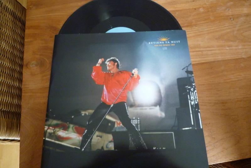 """Edition collector 5 LP """"parc des Princes 1993"""" édité par mercury P1590850"""