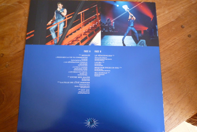 """Edition collector 5 LP """"parc des Princes 1993"""" édité par mercury P1590912"""
