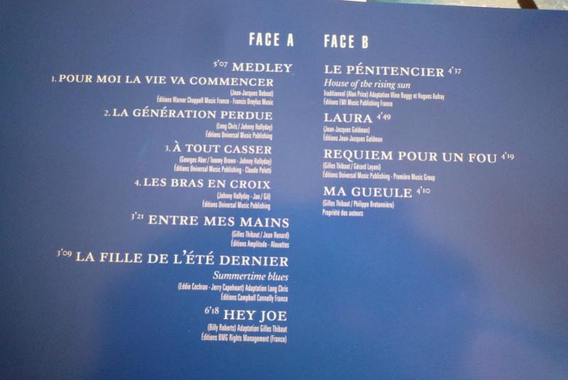 """Edition collector 5 LP """"parc des Princes 1993"""" édité par mercury P1590913"""