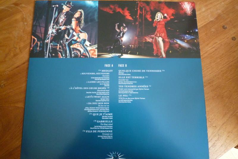 """Edition collector 5 LP """"parc des Princes 1993"""" édité par mercury P1590919"""