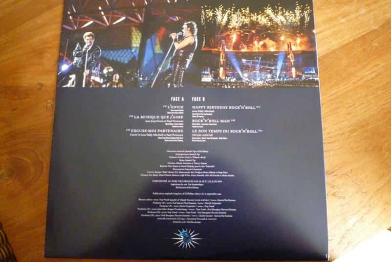 """Edition collector 5 LP """"parc des Princes 1993"""" édité par mercury P1590925"""